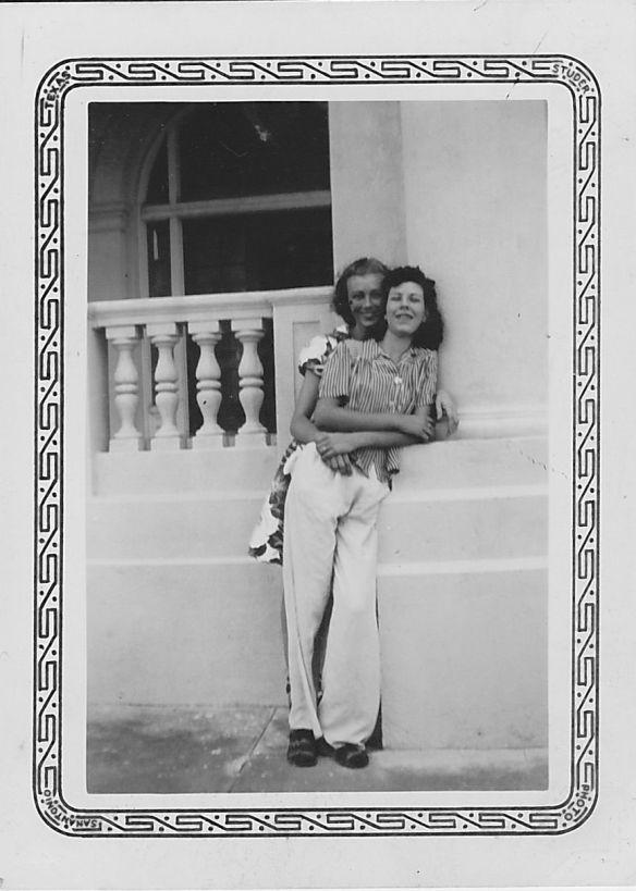 Grandma C and Aunt Louise