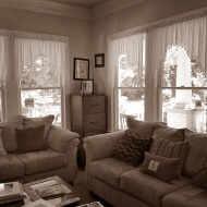 Living area at 4447 Rusk