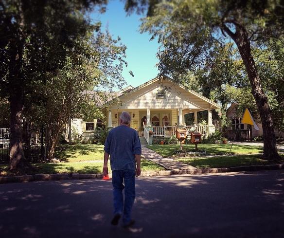 4447 Rusk house (and Doug)