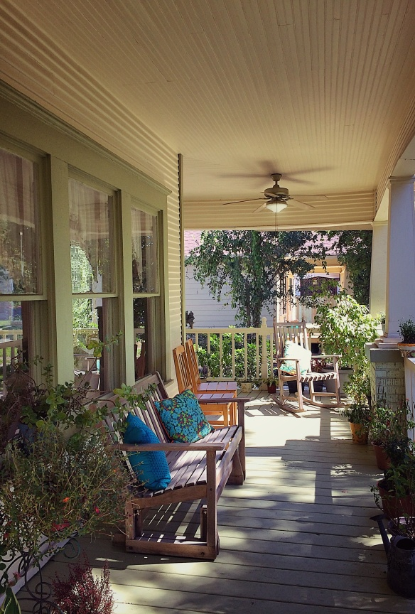 The porch at 4447 Rusk