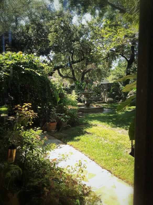real big house garden
