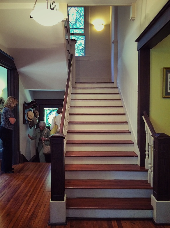 real big house stairs