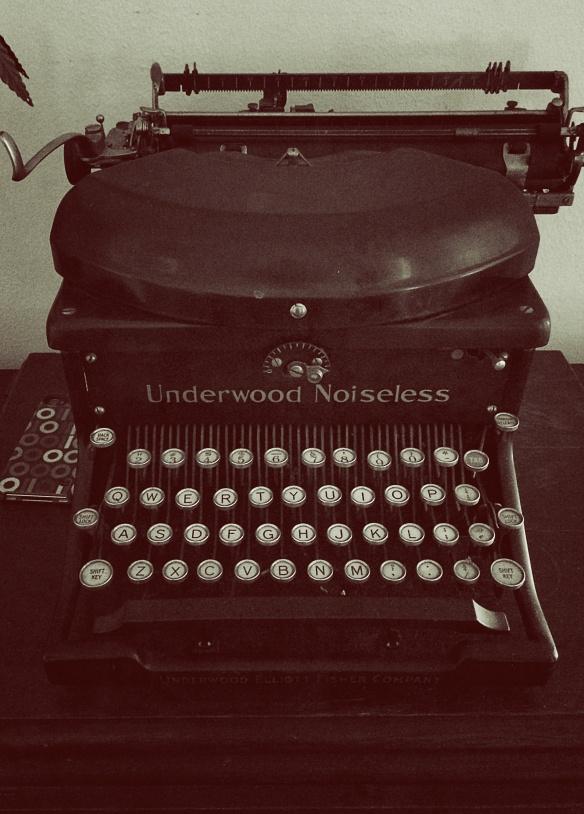 real big house typewriter