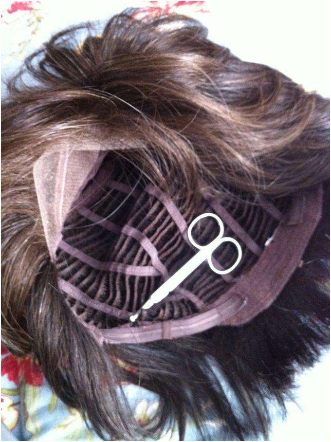Adjusting a Too-Big Wig: Tucking the Cap (1/5)
